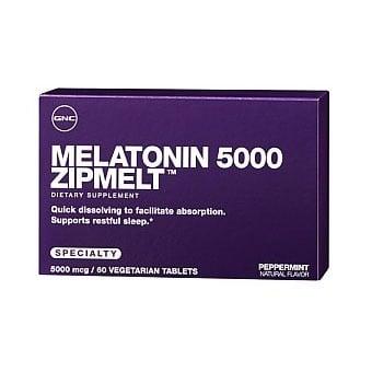GNC Melatonin / Мелатонин 5 mg, Брой таблетки: 60