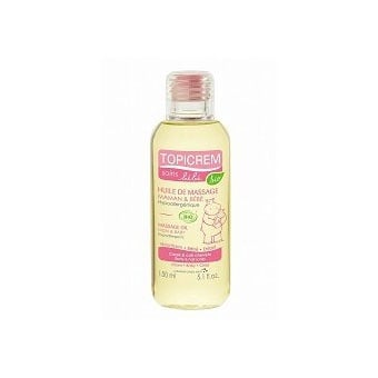 Topicrem Massage Oil Mam&Baby / Масажно олио за бебета и майки, Течност: 150 ml