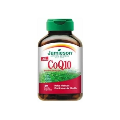 Jamieson CoQ10 / Коензим Q10, Брой капсули: 30