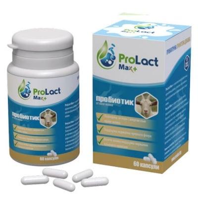 ProLact Max+ 60 capsules / ПроЛакт Макс+ 60 капсули