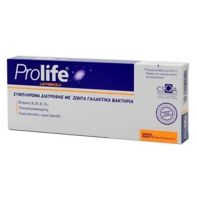 Prolife Lactobacilli 7 flacons x 8 ml / Пролайф Лактобацили 7 флакона x 8 мл.