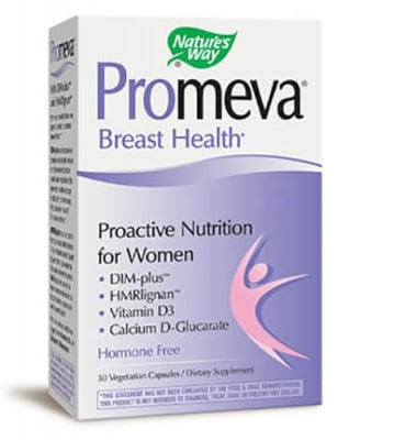 Promeva breast health 363 mg 30 capsules Nature's Way / Промева брест хелт 363 мг. 30 капсули Nature's Way