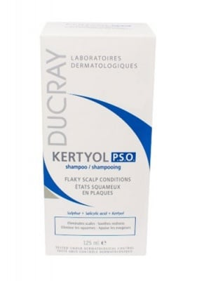 Ducray Kertyol P.S.O. shampoo 125 ml / Дюкре Кертиол P.S.O. шампоан 125 мл.