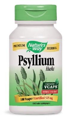 Psyllium husks 525 mg 100 capsules Nature's Way / Хуск 525 мг. 100 капсули Nature's Way