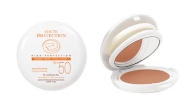 Avene Couvrance High protection compact foundation cream SPF 50 light / Авен Пудра за чувствителна кожа SPF 50 светъл цвят