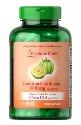 Puritan`s pride Garcinia cambogia 1000 mg 120 capsules / Пуританс прайд Гарциния камбоджа 1000 мг 120 капсули
