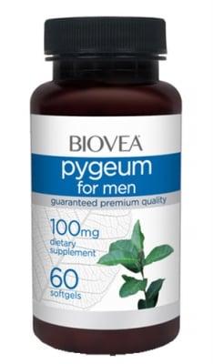 Biovea Pygeum for men 100 mg 60 capsules / Биовеа Пигеум за мъже 100 мг. 60 капсули