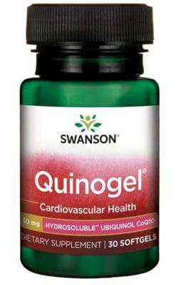 Swanson Quinogel 50 mg 30 capsules / Суонсън Квиногел 50 мг 30 капсули