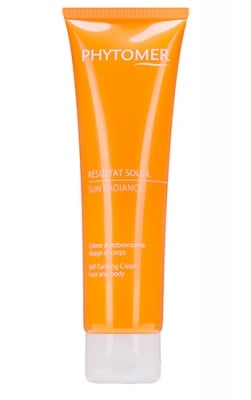 Phytomer sun radiance self-tanning face and body cream 125 ml. / Фитомер Автобронзант за лице и тяло 125 мл.