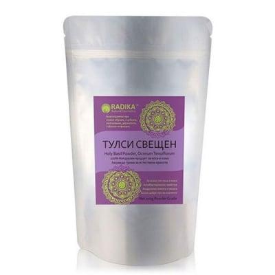 Radika Holy Basil powder 100 g / Радика Свещен босилек (Тулси) прах 100 гр.