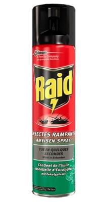 Raid Against creeping insects spray-eucalyptus 400 ml / Райд аерозол срещу пълзящи насекоми - евкалипт 400 мл.