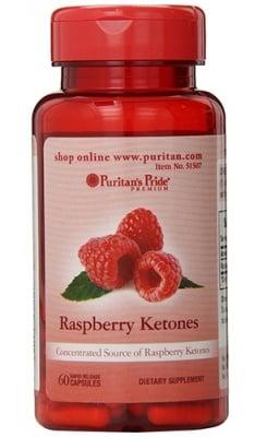 Puritan's Pride raspberry ketones 100 mg 60 capsules / Пуританс Прайд Малинови кетони 100 мг. 60 капсули