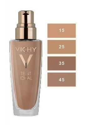 Vichy Teint Ideal Foundation Fluid 45 Honey 30 ml / Виши фон дьо тен - Флуид Идеал Номер 45 Цвят Меден 30 мл