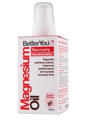 Better You magnesium oil recovery spray 100 ml. / Бетър Ю Трансдермален магнезиев спрей Възстановяващ 100 мл.