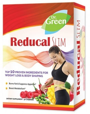 Reducal Slim 30 capsules Dr. Green / Редукал Слим 30 капсули Др. Грийн