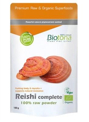 Biotоna Reishi complete powder 150 g / Биотона Био Рейши 150 гр.