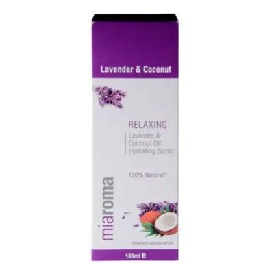 Relaxing Lavender and Coconut Oil 100 ml Miaroma / Релаксиращ спрей с лавандула и кокос 100 мл. Miaroma