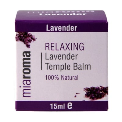 Relaxing Lavender Temple Balm 15 ml Miaroma / Релаксиращ балсам с лавандула за слепоочие 15 мл. Miaroma