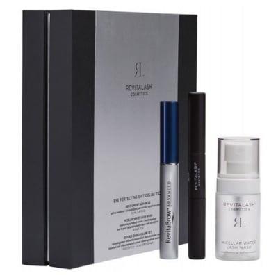 Revitalash Advanced Set - Eyebrow Conditioner 3 ml + Micellar water 30 ml + Double-ended volume mascara 2 in 1 / Ревиталаш комплект - Серум за вежди 3 мл. + Мицеларна вода 30 мл. + Спирала за мигли 2 в 1