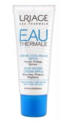 Uriage Thermal rich water cream SPF20 40 ml. / Уриаж Термал Богат хидратиращ крем SPF20 40 мл.