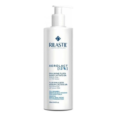 Rilastil Xerolact Fluid Emulsion with Sodium Lactate 12% 250 ml / Риластил Ксеролакт Флуид Емулсия с 12% Натриев лактат 250 мл.