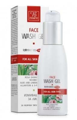 Rooibos Star wash face gel 100 ml. / Ройбос Стар измиващ гел за лице 100 мл.