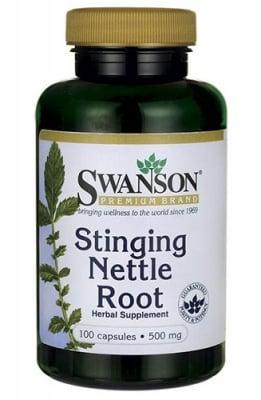 Swanson stinging nettle root 500 mg 100 capsules / Суонсън Корен от Коприва 500 мг. 100 капсули