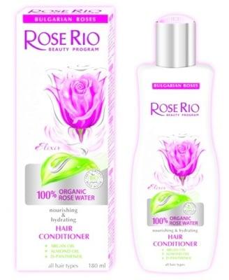 Rose Rio nourishing & hydrating hair conditioner 180 ml. / Роуз Рио подхранващ и хидратиращ балсам 180 мл.