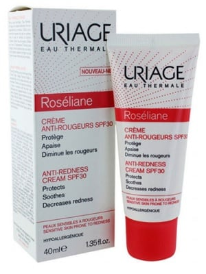 Uriage ROSELIANE Anti-redness cream SPF 30 40 ml. / Уриаж ROSELIANE Крем срещу зачервявания SPF 30 40 мл.