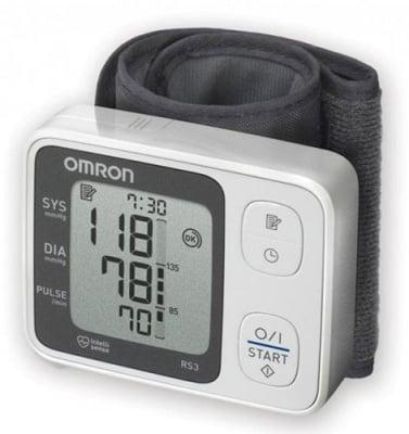 Digital apparatus for blood pressure Omron RS3 HEM - 6130 - E / Елeктронен апарат за кръвно налягане Омрон  RS3 HEM - 6130 - E