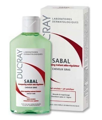 Ducray Sabal sebum-regulating treatment shampoo for oily hair 125 ml / Дюкре Сабал шампоан за мазна коса 125 мл.