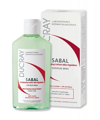 Ducray Sabal sebum-regulating treatment shampoo for oily hair 200 ml / Дюкре Сабал шампоан за мазна коса 200 мл.