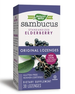 Sambucus 200 mg 30 tablets Nature's Way / Самбукус 200 мг. 30 таблетки Nature's Way