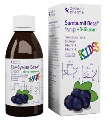 Sambumil beta syrup kids 180 ml. / Самбумил бета сироп за деца 180 мл.