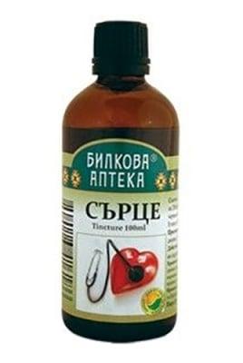 Tincture Heart 100 ml. Herbal pharmacy / Тинктура Сърце 100 мл. Билкова Аптека