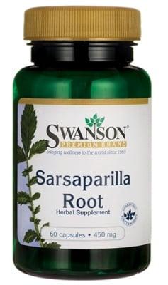 Swanson Sarsaparilla root 450 mg 60 capsules / Суонсън Сарсапарила 450 мг. 60 капсули