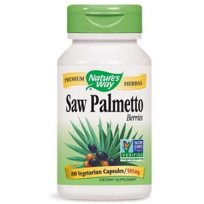 Saw Palmetto Berries 585 mg. 100 capsules Nature's Way / Сао Палмето плод 585 мг. 100 капсули Nature's Way