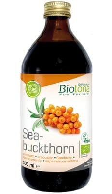 Biotоna Seabuckthorn juice 500 ml / Биотона Био сок от Облепиха 500 мл.