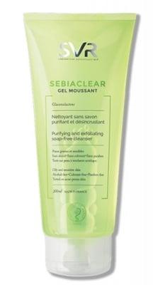 SVR Sebiaclear gel moussant 200 ml. / Себиаклиър Измиваща гел-пяна за лице 200 мл. SVR