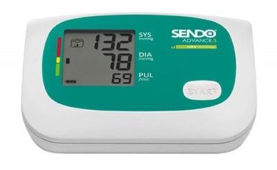 Digital device for measuring blood pressure SENDO ADVANCE 3 / Електронен апaрат за измерване на кръвно налягане СЕНДО АДВАНС 3