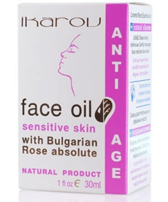 Ikarov Face oil sensitive skin 30 ml. / Икаров Масло против бръчки за чувствителна кожа 30 мл.
