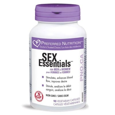 Sex Essentials for Men and Women 540 mg 90 capsules / Секс есеншълс 540 мг. 90 капсули