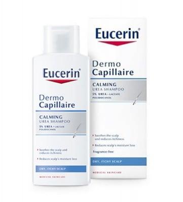 Eucerin DermoCapillaire Replenishing moisture shampoo with 5% UREA 250 ml. / Еуцерин Дермокапилер Успокояващ шампоан за сух и сърбящ скалп с 5 % УРЕА 250 мл.