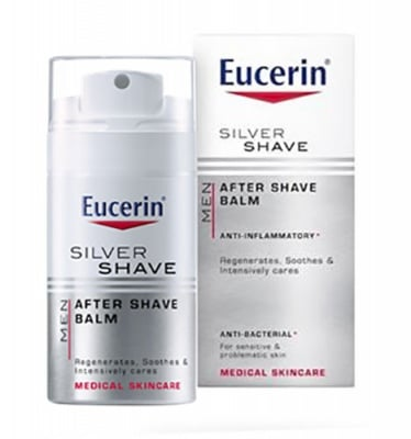 Eucerin Men Silver Shave after shave balm 75 ml. / Еуцерин Мен Силвър Шейф балсам за след бръснене 75 мл.