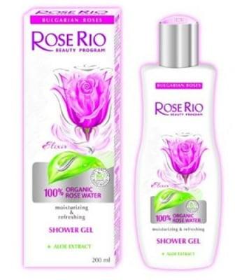 Rose Rio moisturizing & refreshing shower gel 200 ml. / Роуз Рио Овлажняващ душ-гел 200 мл.