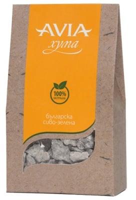 Avia clay grey green nubbly 250 g / Авиа сиво-зелена хума на бучки 250 гр.