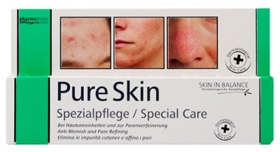 Pharmatheiss cosmetics pure skin special care 20 ml. / Фарматайс козметикс пюр скин крем спецална грижа за кожата 20 мл.