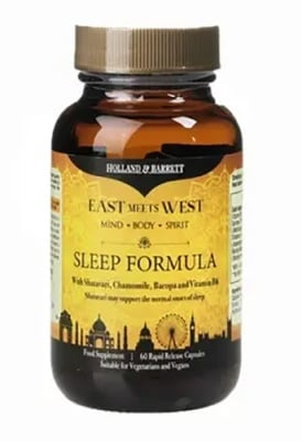 Sleep formula 60 capsules Holland & Barrett / Слийп формула 60 капсули Holland & Barrett