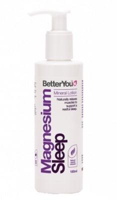 Better You magnesium sleep mineral lotion 180 ml. / Бетър Ю отпускащ Лосион с Магнезий 180 мл.
