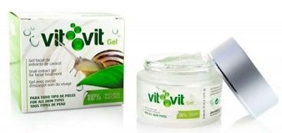 Vit vit face gel with extract of snails for each type of skin 50 ml. / Вит вит гел за лице с екстракт от охлюви за всеки тип кожа 50 мл.
